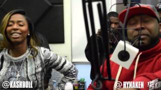 Kashdoll Spits; Talks Adult Film; Debra Antney; Epic Records Stealing From ATL