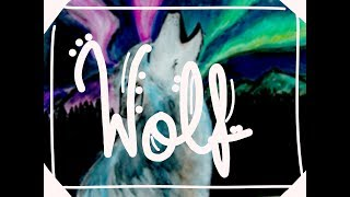 Watercolor wolf - Darguilar.M /first video