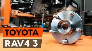 Guida alla manutenzione passo dopo passo e manuali di riparazione per Toyota Rav4 II