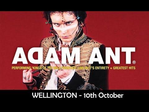 Adam Ant Wellington NZ, 10 October 2017