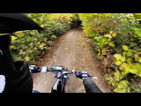 FAST off road E-Bike ride on the green lanes of Essex UK | Enduro EBike