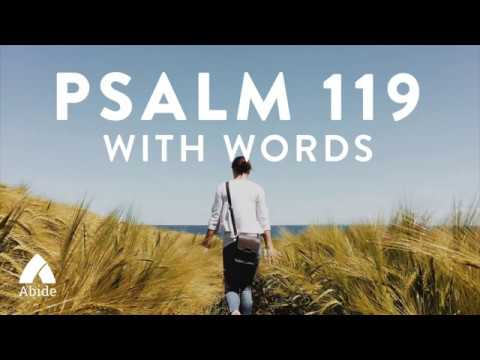 Psalm 119 - King James Holy Bible (KJV)