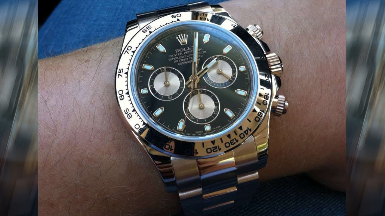 Rolex Cosmograph Daytona 116505 Black And Pink Dial 40 Mm Everose