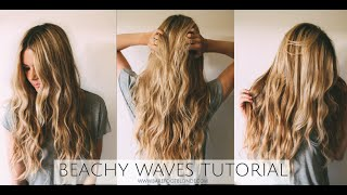 One of Amber Fillerup's most viewed videos: TUTORIAL | Beachy Wave Tutorial