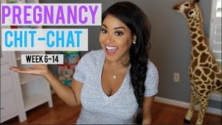 Pregnancy Update Week 6-14 | Symptoms, Unprotected Sex, Belly Shot + More!