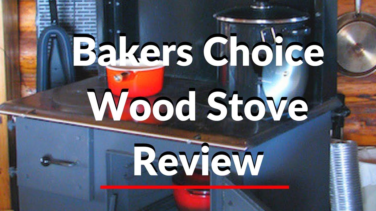- Review Of Amish Built Bakers Choice Wood Cook Stove. - YouTube