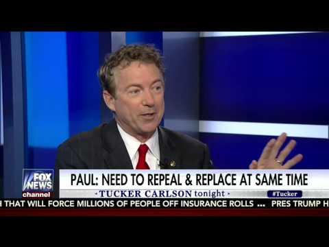 "Sen. Rand Paul on Fox News' ""Tucker Carlson Tonight"" - March 9, 2017"