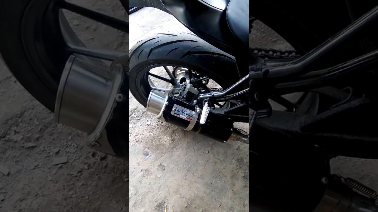Knalpot Ex Ninja 250 Leovince To Gsx R150 R9 Assen Kawasaki Bajaj Pulsar 200ns Full System