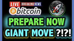 OMG!! BITCOIN & ETHEREUM GIANT MOVE SOON?!! 📈LIVE Crypto Analysis TA & BTC Cryptocurrency Price News