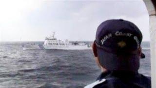 尖閣警備の最前線 日本領海侵入の中国公船に対応