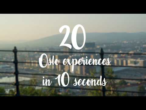 20 local Oslo experiences in 20 seconds