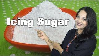 Icing Sugar - Homemade Confectionary Sugar