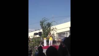 石川県にモノマネ芸人のホリさんがきてました。 桃太郎という童話を古畑...