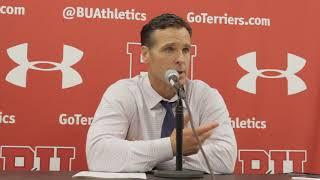 BU Hockey - Coach Quinn Postgame (9/30/17) vs Union