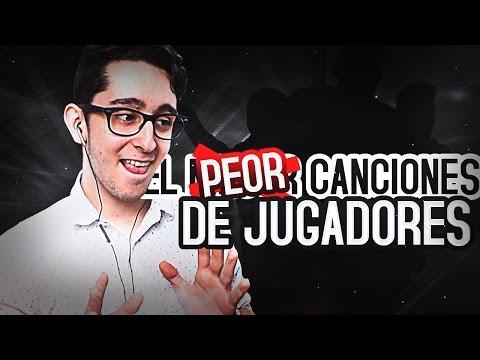La PEOR CANCIÓN DE JUGADOR que JAMÁS escucharás