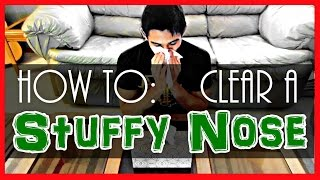 How to Clear a Stuffy Nose Fast! | ParcDuction