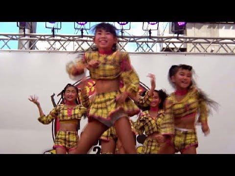aimable_POOL カワイイ 小学生 ダンス部 北九州市長杯ストリートダンスコンテスト 2018