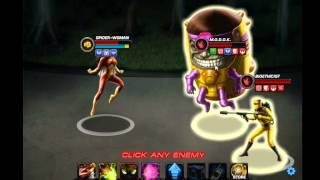 Marvel Avengers Alliance: Season 2, Chapter 1 - Heroic Battle 4, Spider-Woman (Challenge Mode)