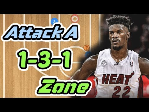 How To Attack A 1-3-1 Zone Defense In Basketball