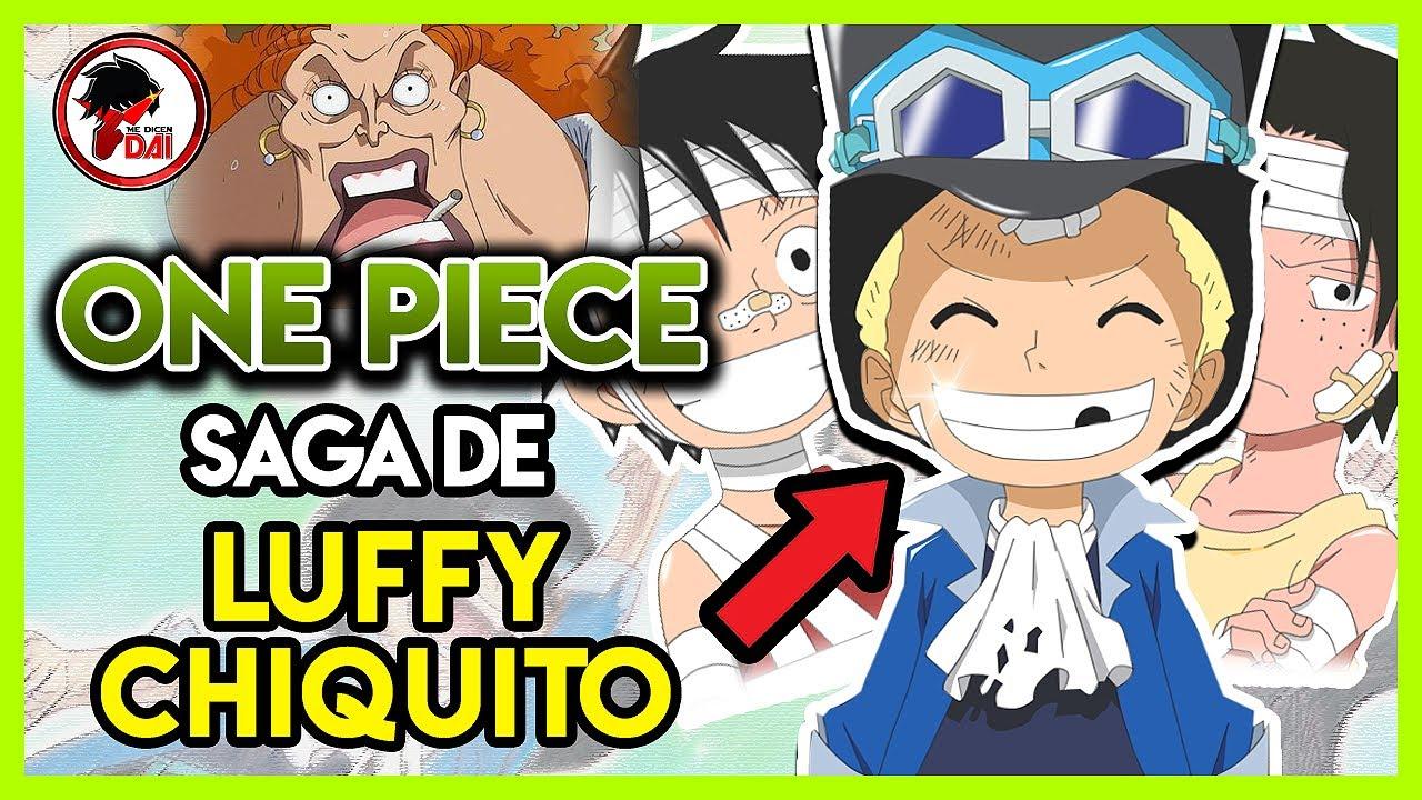 One Piece: Hablemos de la SAGA de LUFFY CHIQUITO