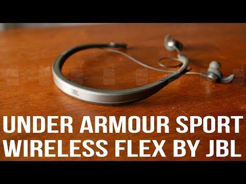 Under Armour Sport Wireless Flex by JBL hands-on