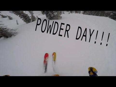 Powder Skiing POV | Kirkwood Resort 1/3/17