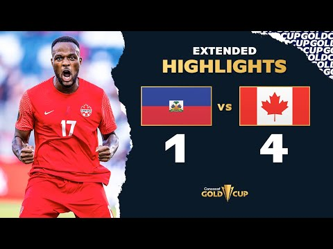 Extended Highlights: Haiti 4-1 Canada – Gold Cup 2021