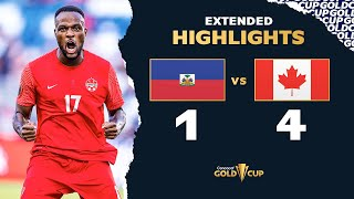 Extended Highlights: Haiti 4-1 Canada - Gold Cup 2021