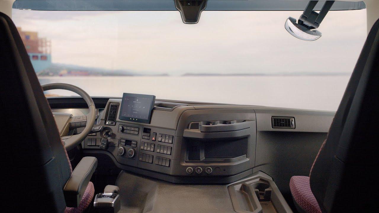 Volvo Trucks The New Volvo Fm Interior Walkaround Youtube
