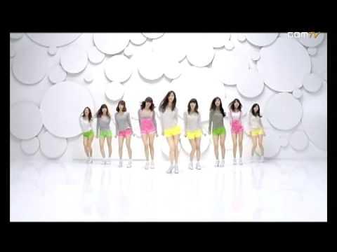 MV]少女時代 Gee(舞蹈版)