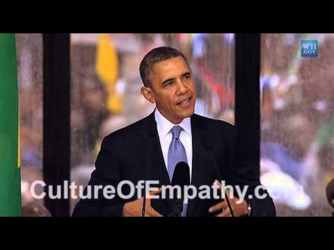 Obama Speaks about Ubuntu & Empathy at...