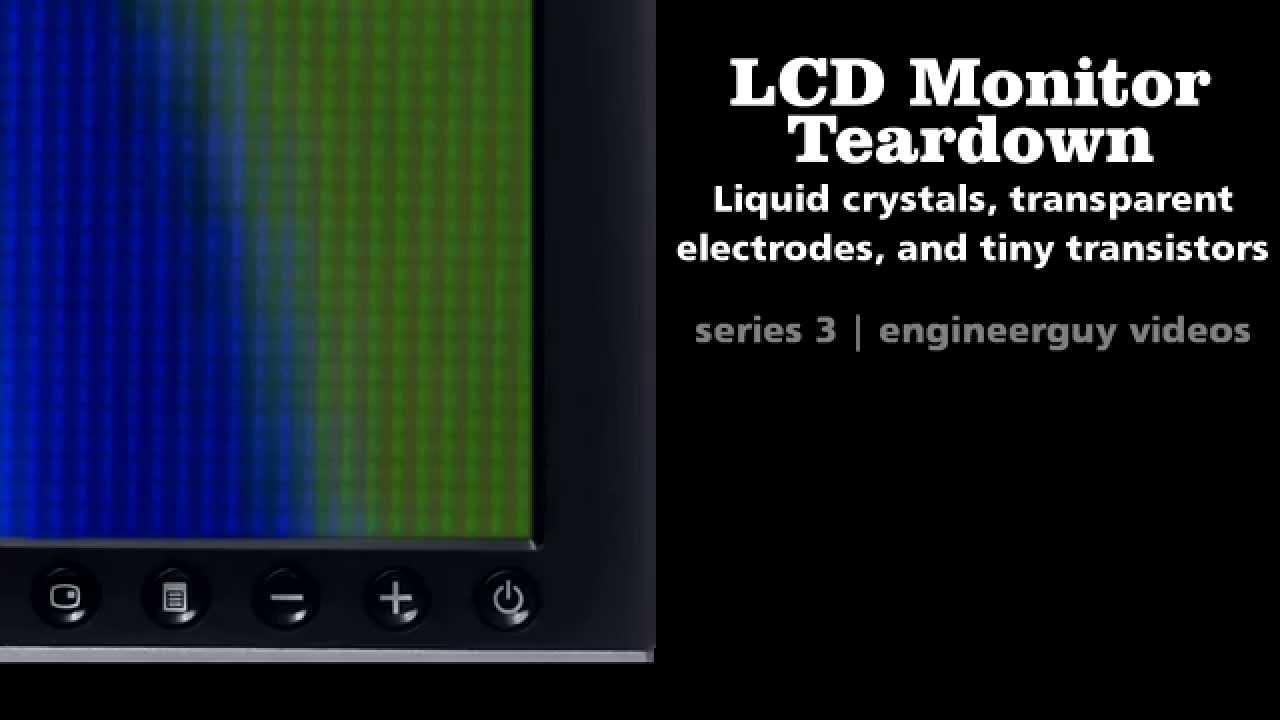 Lcd Monitor Teardown Youtube Liquid Crystal Display