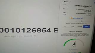 Live Withdrawal proof from cryptotab mining (Super Free mining by using Google chrome)