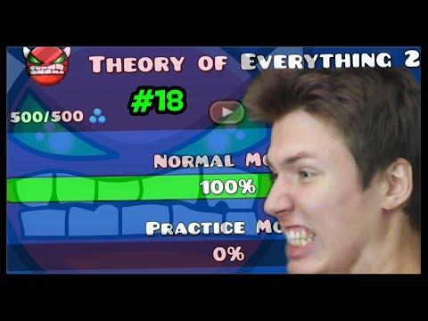 DEMON BEZ PRAKTISU! - Theory of Everything 2 | Geometry Dash #18