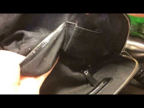 How to clean your handbag interior: