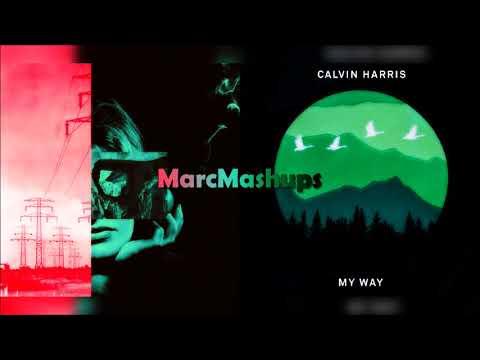 Calvin Harris, Clean Bandit & Marina  Disconnect  My Way Mashup