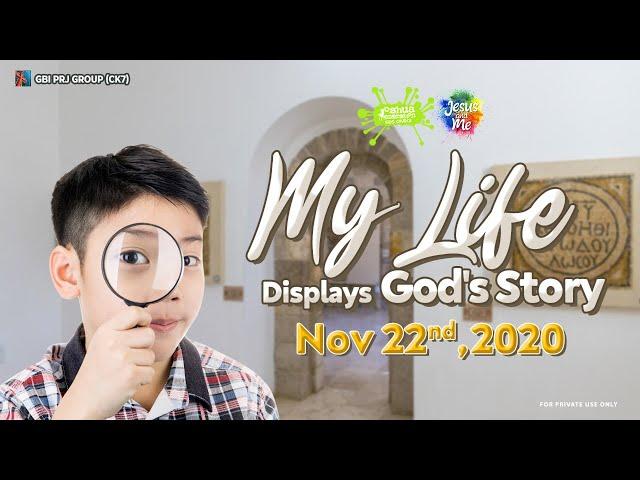 Kids English Service (Online Service) - 22 November 2020