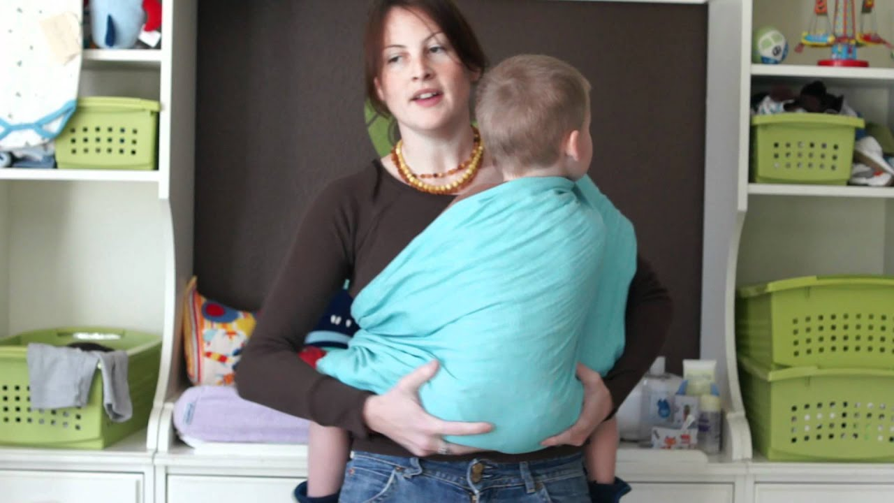 How To Wear A Ring Sling On Your Back