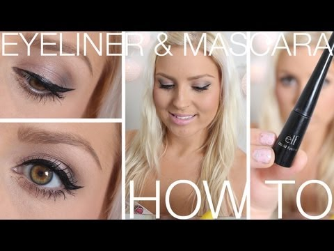 Beginners Eyeliner Mascara Eyebrows How To Wing Your Eyeliner