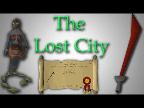 OSRS The Lost City Quest Guide - Dragon Weapon Unlocked!