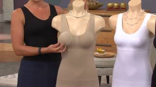 Cami Shaper by Genie Set of 3 Shaping Camisoles with Leah Williams