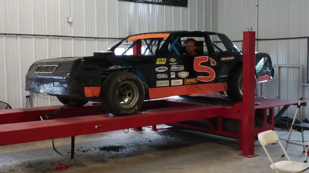 Dirt Street Stock Racecar on Dyno - YouTube