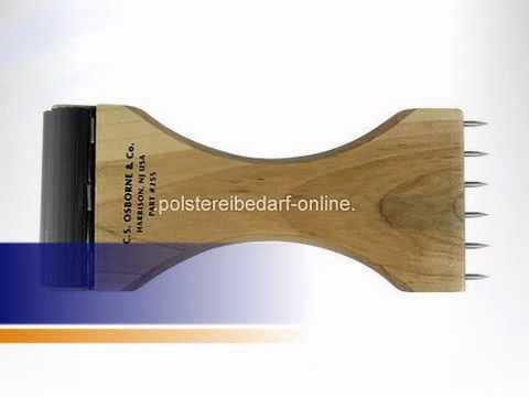 Gurtspanner Holz 210mm Osborne No. 255 - polstereibedarf-online.de