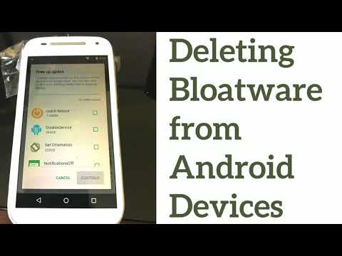 Deleting Bloatware On Android Devices