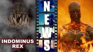 Jurassic World's Indominus Rex! Terminator Genisys Super Bowl Spot - Beyond The Trailer