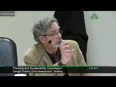 Planning and Sustainability Commission 4-25-2017