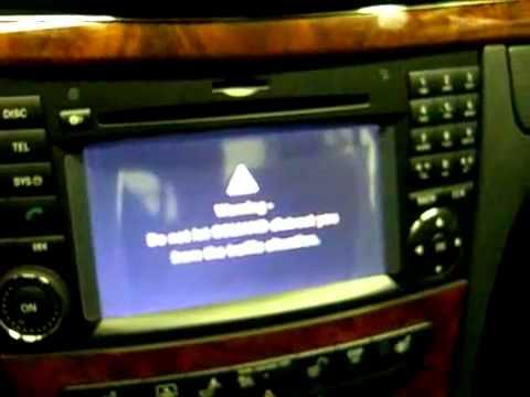 2009 E Class Backup Camera Install - YouTube