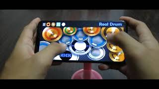 Kahit Ayaw Mo Na - This Band ( Real Drum App Cover )