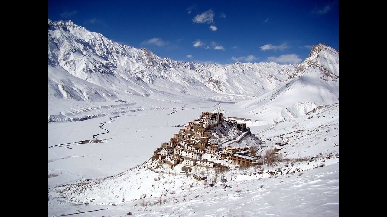 The Cold Desert Mountain Valley Of India Spiti Valley Himachal