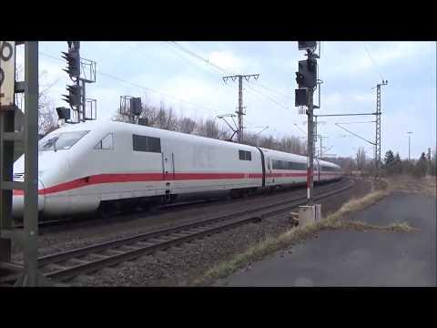 Zugdurchfahrten  Bahnhof Lehrte (24.März 2018)
